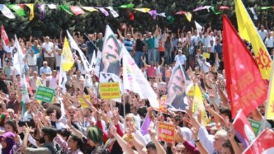 HDP Darbelere Hayır mitingi