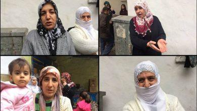 surlu kadınlar tacize karşı nöbette