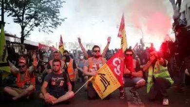 Fransada reformlara karşı eylemler sürüyor 1